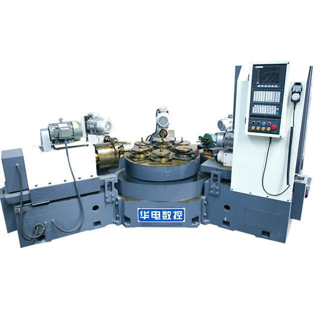 HDF-6ZE无防护数控六工位组合机床 蝶阀专用加工机床