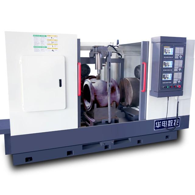 閘閥專用數控三面加工機床