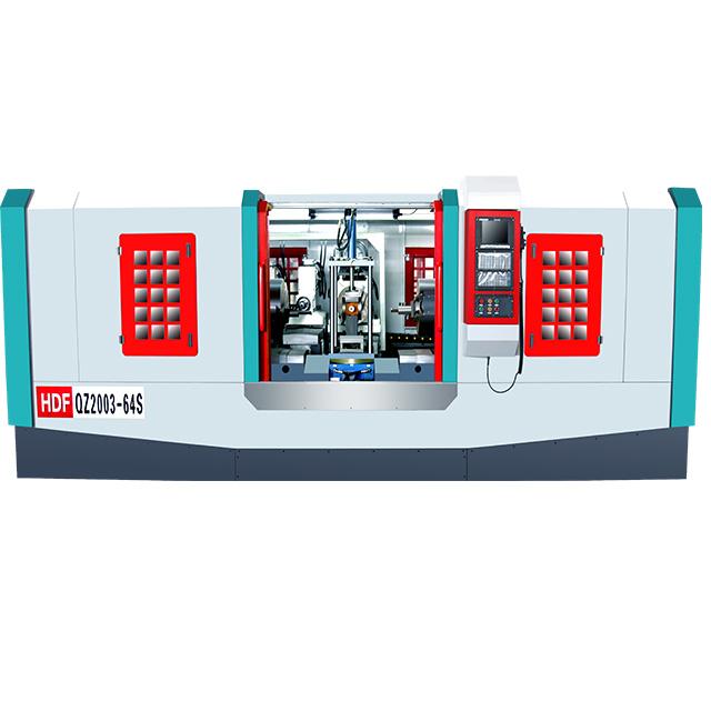 多工位车钻攻组合机床沟槽蝶阀加工专用机床泵管阀加工机床制造商