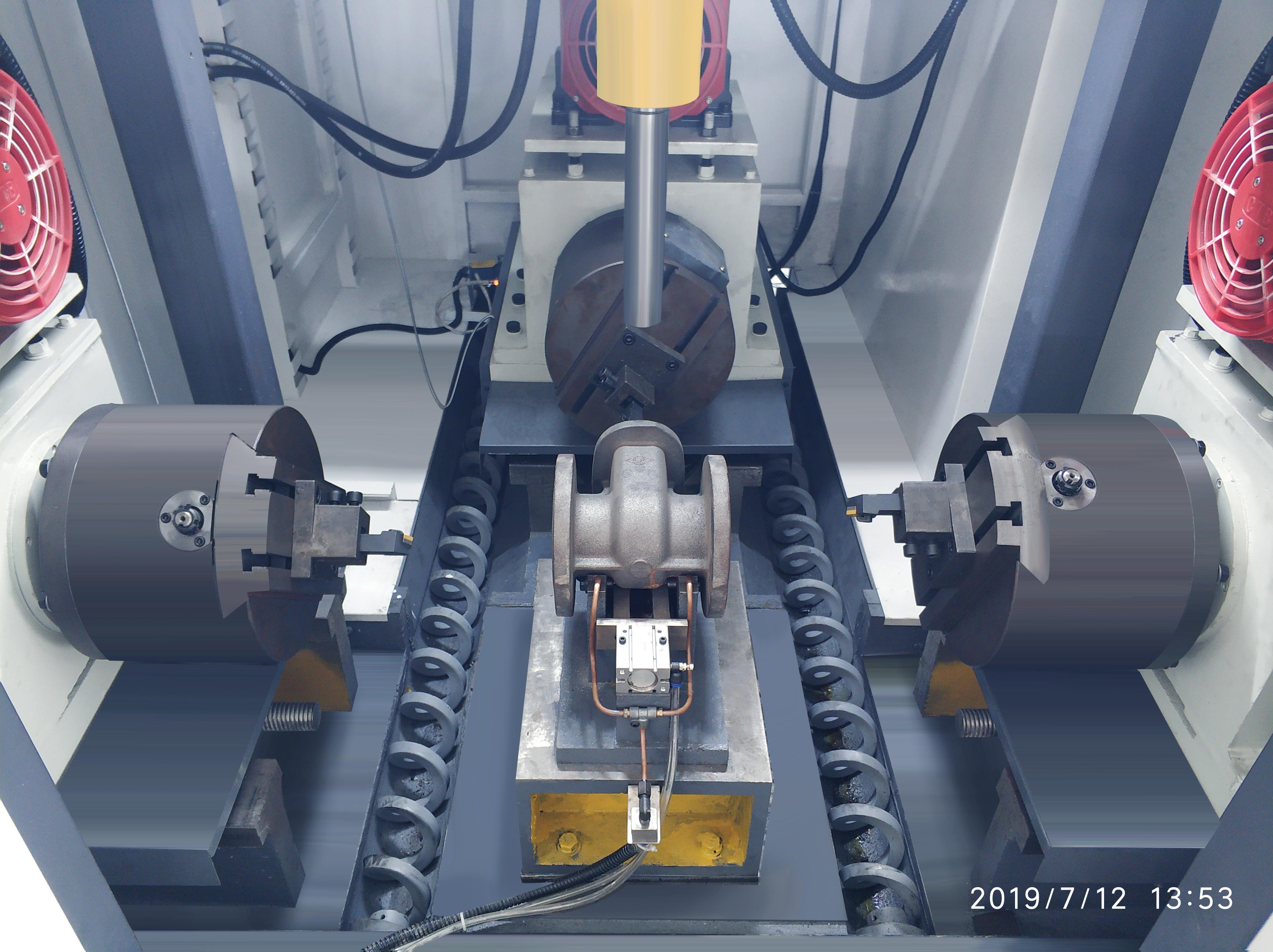 閥門加工 閘閥截止閥加工數控機床 專用機床