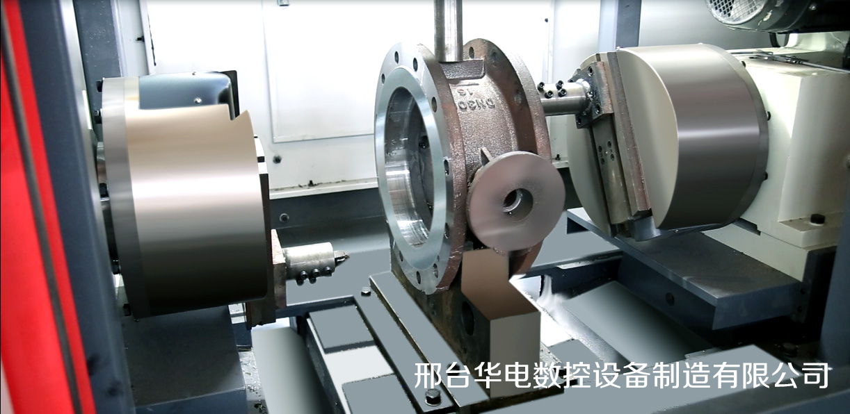 两面加工铸钢蝶阀